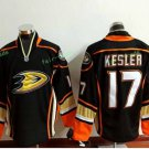 Anaheim Ducks 2017 Stanley Cup Champions patch Playoffs 17 Kesler Black Hockey Jerseys