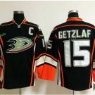 Anaheim Ducks 2017 Stanley Cup Champions patch Playoffs 15 Ryan Getzlaf Black Hockey Jerseys