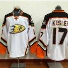 Anaheim Ducks 2017 Stanley Cup Champions patch Playoffs 17 Kesler White Hockey Jerseys