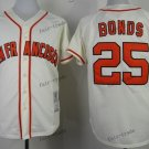 san francisco giants #25 barry bonds 2015 Baseball Jersey  Rugby Jerseys Authentic Stitched white 2