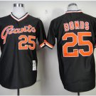san francisco giants #25 barry bonds 2015 Baseball Jersey  Rugby Jerseys Authentic Stitched Black