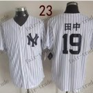 New York   #19 Masahiro Tanaka  2015 Baseball Jersey Rugby Jerseys Authentic Stitched