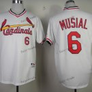st. louis cardinals #6 stan musial 2015 Baseball Jersey Rugby Jerseys Authentic Stitched White 2
