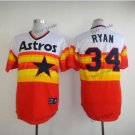 houston astros #34 nolan ryan 2015 Baseball Jersey Rugby Jerseys Authentic Stitched Orange