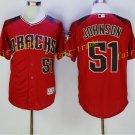 Arizona Diamondbacks 51 Randy Johnson Jersey Cooperstown Baseball Jerseys Diamondbacks Red