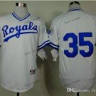 kansas city royals #35 eric hosmer 2015 Baseball Jersey Rugby Jerseys Authentic Stitched White 2