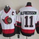 Ottawa Senators 2017 Stanley Cup Champions patch 11 Daniel Alfredsson White Jersey