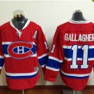 2016 New Montreal Canadiens #11 Brendan Gallagher Red Stitched Hockey Jerseys Mix Orders
