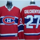 2016 New Montreal Canadiens #27 Alex Galchenyuk Red Stitched Hockey Jerseys Mix Orders