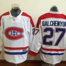 2016 New Montreal Canadiens #27 Alex Galchenyuk White Stitched Hockey Jerseys Mix Orders