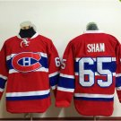 2016 New Montreal Canadiens #65 Andrew Shaw Red Stitched Hockey Jerseys Mix Orders