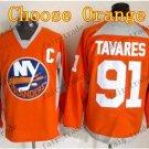 2016 Alternate New York Islanders 91 John Tavares Ice Winter Hockey Jerseys Orange