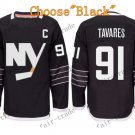 2016 Alternate New York Islanders 91 John Tavares Ice Winter Hockey Jerseys Black
