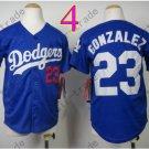 Dodgers Youth Jersey 23 Adrian Gonzalez Blue Kid Size S M L XL