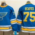 Women St. Louis Blues  #75 Ryan Reaves 2017 Winter Classic Blue Hockey Jerseys Stitched