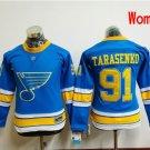 Women St. Louis Blues  #91 Vladimir Tarasenko 2017 Winter Classic Blue Hockey Jerseys Stitched