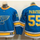 Youth St. Louis Blues #55 Colton Parayko 2017 Winter Classic Blue Kids  Hockey Jerseys Stitched