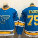 Youth St. Louis Blues #75 Ryan Reaves 2017 Winter Classic Blue Kids  Hockey Jerseys Stitched
