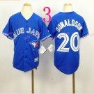 Top quanlity !Toronto Blue Jays Youth Jersey #2 Josh Donaldson Blue Stitched