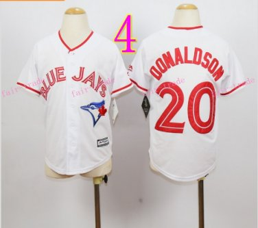 Top quanlity !Toronto Blue Jays Youth Jersey #2 Josh Donaldson White Stitched
