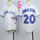 Top quanlity !Toronto Blue Jays Youth Jersey #2 Josh Donaldson White All Stitched