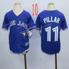Top quanlity !Toronto Blue Jays Youth Jersey #11 Kevin Pillar Blue All Stitched