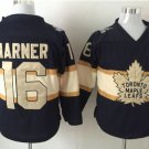 New Toronto Maple Leafs Ice Hockey Black 16 Mitchell Marner Jerseys 100th Anniversary