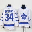 New Toronto Maple Leafs Ice Hockey White 34 Auston Matthews Jerseys 100th Anniversary