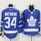 New Toronto Maple Leafs Ice Hockey Blue 34 Auston Matthews Jerseys 100th Anniversary