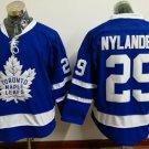 New Toronto Maple Leafs Ice Hockey Blue 29 William Nylander Jerseys 100th Anniversary