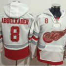 2017 Centennial Classic Hoodies Detroit Red Wings 8 Justin Abdelkader Sweatshirt Jerseys