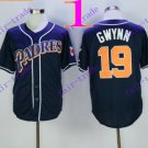San Diego Padres #19 Tony Gwynn 2016 Baseball Jersey Rugby Jerseys Authentic Stitched