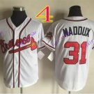 atlanta braves #31 greg maddux 2016 Baseball Jersey  Rugby Jerseys