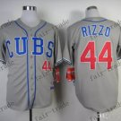 44 Anthony Rizzo Baseball Jersey Rugby Jerseys Embroidery logos Gray