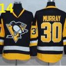 2016 Penguins Throwback Jerseys Pittsburgh  #30 Matthew Murray black