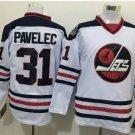 2016 Heritage Classic Jersey Winnipeg Jets Hockey Ondrej Pavelec #31