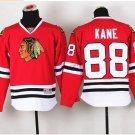2016 Chicago #88 Patrick Kane Red Youth Ice Hockey Jerseys Kids Boys Stitched Jersey
