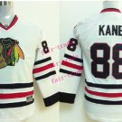 2016 Chicago #88 Patrick Kane white Youth Ice Hockey Jerseys Kids Boys Stitched Jersey style 1
