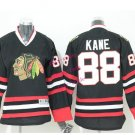 2016 Chicago #88 Patrick Kane Black Youth Ice Hockey Jerseys Kids Boys Stitched Jersey style 2