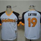 san diego padres 19 tony gwynn 2015 Baseball Jersey Rugby Jerseys Authentic Stitched White style 1