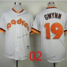 san diego padres 19 tony gwynn 2015 Baseball Jersey Rugby Jerseys Authentic Stitched White style 2