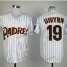 san diego padres 19 tony gwynn 2015 Baseball Jersey Rugby Jerseys Authentic Stitched White style 4