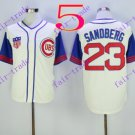 chicago cubs #23 ryne sandberg 2016 Baseball Jersey Rugby Jerseys White