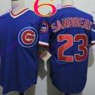 chicago cubs #23 ryne sandberg 2016 Baseball Jersey Rugby Jerseys Blue