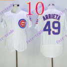 chicago cubs  #49 Jake Arrieta 2016 Baseball Jersey Rugby Jerseys White