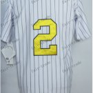 New York #2 derek jeter White 2015 Baseball Jersey Rugby Jerseys Authentic Stitched Style 2