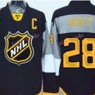 #28 John Scott Hockey Jersey 2016 All Star Ice Hockey Jerseys 28 Scott MVP Jersey C Patch Black