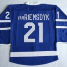 2016 New TOT JAMES #21 VAN RIEMSDYK  Jersey Blue PITTSBURGH Jerseys