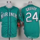 seattle mariners #24 ken griffey 2015 Baseball Jersey Rugby Jerseys Authentic Stitched Blue