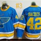 St. Louis Blues #42 David Backes 2017 Hockey Jerseys Ice Winter Jersey All Stitched